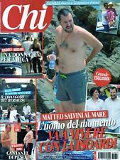Chi 2018 27.Salvini,Pierce Brosnan,Gwyneth Paltrow,Renato Zero,Claudia Galanti
