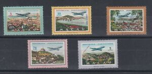 Portugal - Macao/Macau Airmail Nice Complete Set MLH