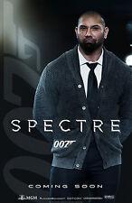 007 SPECTRE MANIFESTO JAMES BOND IAN FLEMING DANIEL CRAIG MR HINX DAVE BAUTISTA