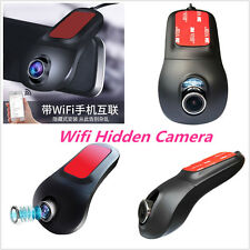 Wireless Wifi Hidden Car DVR Camera Full HD Dash Cam Night Vision Video Recorder
