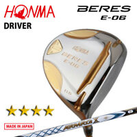 4-Star HONMA GOLF JAPAN BERES E-06 DRIVER 1W ARMRQ X43 2018 MODEL 081805