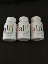 Lot of 3 Alli Orlistat Weight Lossss