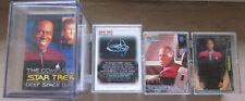 Star Trek DS9  - 4 x Tradingcard Set - Skybox / Rittenhouse