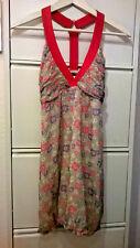 PATRIZIA PEPE Firenze Sommer Kleid Größe 34 (XS) aus feiner SEIDE