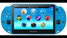 SONY Playstation Vita PSV 2000 WiFi Console Aqua Blue CN *VGC*+Warranty!