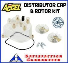 Accel 11069 Distributor Cap & Rotor Kit Honda/Acura 4-cyl Brass Terminals