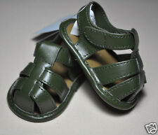 New Gymboree baby infant green sandals crib shoes NWT green size 01 1