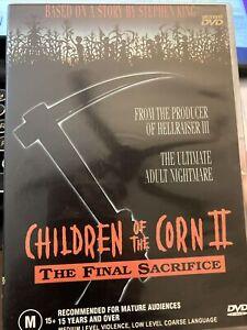 Children of the Corn 2 - The Final Sacrifice DVD WV5 Stephen King horror story