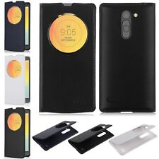 Circle View Window Flip Leather Case Battery Cover For LG L Bello D335 Dual New