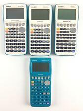 Lot 4 Calculatrice HS Hors Service Casio 35 et 25 Pro / Doesn't Work