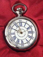 montre style ancienne métal couleur argent rodié quartz aiguille déco couleur or