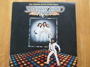 SATURDAY NIGHT FEVER VINYL LP ORIGINAL MOVIE SOUNDTRACK 2658123 RSO RECORDS 1977