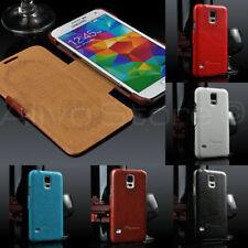 Carcasas Para Samsung Galaxy S5 de piel sintética para teléfonos móviles y PDAs