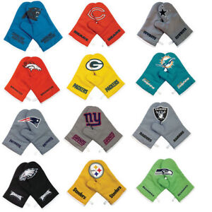 NFL Crossover Oven Mitts, Cross Over Gloves Tailgating Grilling BBQ