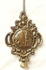 "New 6-1/4"" long Beautiful Tuscan Style Mantle or Small Clock Pendulum Bob(C-189)"