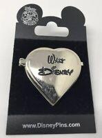 Disney 100 Years of Dreams #77 Walt Disney Birthday Heart Locket  PIN 2001