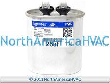 Amrad Oval Run Capacitor 25.0 uf MFD 370 Volt VAC VA2000/37-256