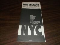 APRIL 1966 NEW YORK CENTRAL NYC NEW ENGLAND FORM 500 PUBLIC TIMETABLE
