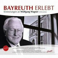 RAYMOND/+ THOLL - BAYREUTH ERLEBT 2 CD NEW WAGNER,RICHARD