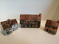 Tey Pottery - Norfolk - Moot Hall + Post Office & Tea Room -Britain In Miniature