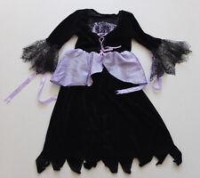 Bildschönes Kleid Gr. 110 116 122 TOP Fasching Hexe Zauberin