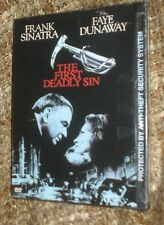 The First Deadly Sin (DVD, 1999), NEW & SEALED SNAPCASE, REGION 1, FRANK SINATRA