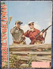Magazine American Rifleman JUNE 1949 !ARISAKA SPORTERS! *Bergmann MARS Model II*