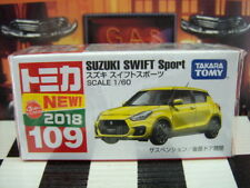 TOMICA #109 SUZUKI SWIFT SPORT 1/60 SCALE NEW IN BOX