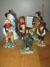 Rare Royal Doulton Part Set Tolkein Figures With Leaflet * Must See *