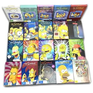 The Simpsons Complete Series DVD Boxset Seasons 1-20 - Rare Collection VGC