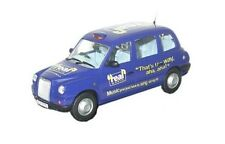 Oxford Diecast 76TX4003 London Taxi Company TX4 Real Radio Livery 1:76 Scale