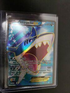 Sharpedo EX FULL ART ULTRA RARE 152/160 Pokemon TCG XY Primal Clash NM/Mint
