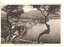META e Penisola Sorrentina vista dalla Via Provinciale........Ed. G. M. Trapani
