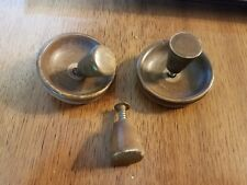 vintage, wooden drawer handle pulls and inserts