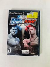 Sony Playstation 2 PS2 WWE Smackdown VS Raw 2006 Game Guaranteed