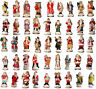 Lot of 10 Memories of Santa Collection Ornament/Figurines New In Box Don Warning