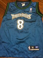 Vintage Minnesota Timberwolves Latrell Sprewell basketball jersey Youth M 10-12