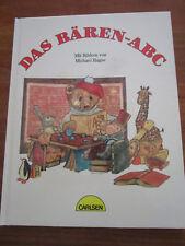 (e752) libro per bambini il Orsi-ABC Hildegard Krahe/Michael Hague Carlsen EA 1986 RAR