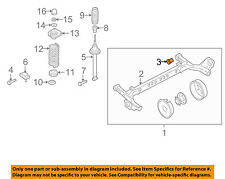 GM OEM Rear Suspension-Axle Bushing 10150338