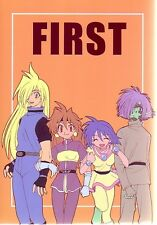 "Slayers Doujinshi "" FIRST "" Lina Amelia Zelgadis Gourry"