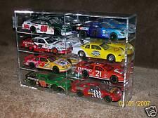 Nascar Diecast 8 Car 1:24 Scale Display Straight shelve