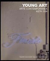 FINARTE CATALOGO ASTA YOUNG ART ARTE CONTEMPORANEA MILANO DICEMBRE 2001