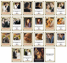 Twilight BREAKING DAWN 11 Card Masterpieces Canvas Print Set ~ New