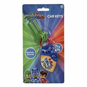 PJ MASKS MY FIRST CAR MUSICAL KEYS WITH REALISTIC SOUNDS FOR KIDS