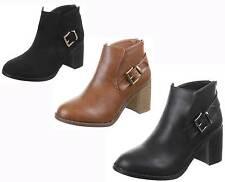 Markenlose/boots Elegante Stiefeletten mit hohem Absatz (5-8 cm)