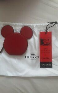 Coach Mickey Mouse Coin Purse