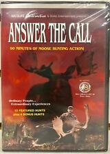 NEW ANSWER THE CALL DVD MOVIE, 90 MINUTES OF MOOSE HUNTING ACTION ON VIDEO