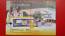 2016 M'sia Miniature Sheet - Pemerintahan Seri Paduka Yang di-Pertuan Agong XIV