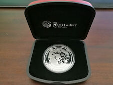 2012 Year of the Dragon 1oz Silver Proof coin
