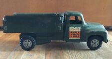 Vintage Toy Metal Buddy L Army Supply Corps GMC Truck